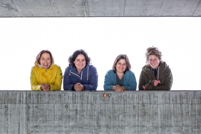 Team Ergozuerich: Silvia Buchli, Julia Zellweger, Nathalie Alder, Carole Eggmann